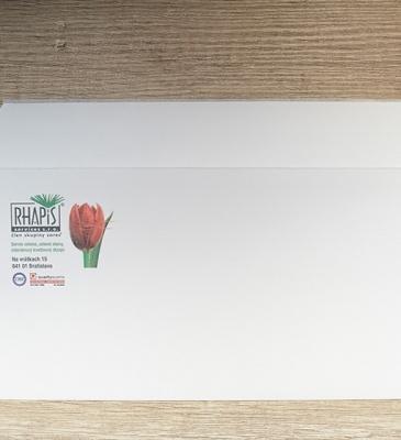 Potlač obálky